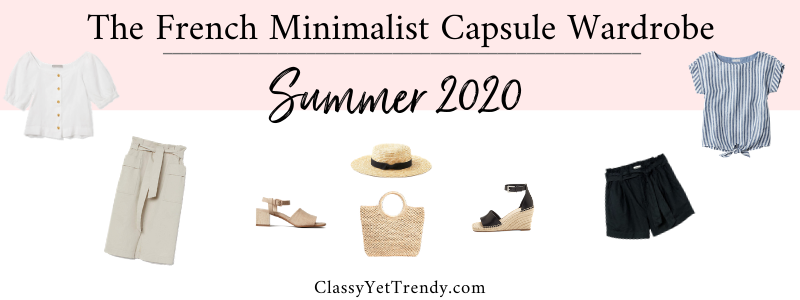 BANNER 800X300 - The French Minimalist Capsule Wardrobe - Summer 2020