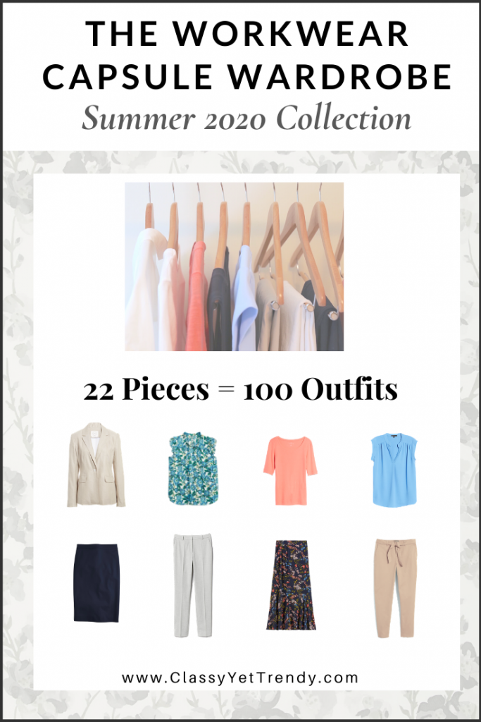 Workwear Capsule Wardrobe - Summer 2020 cover