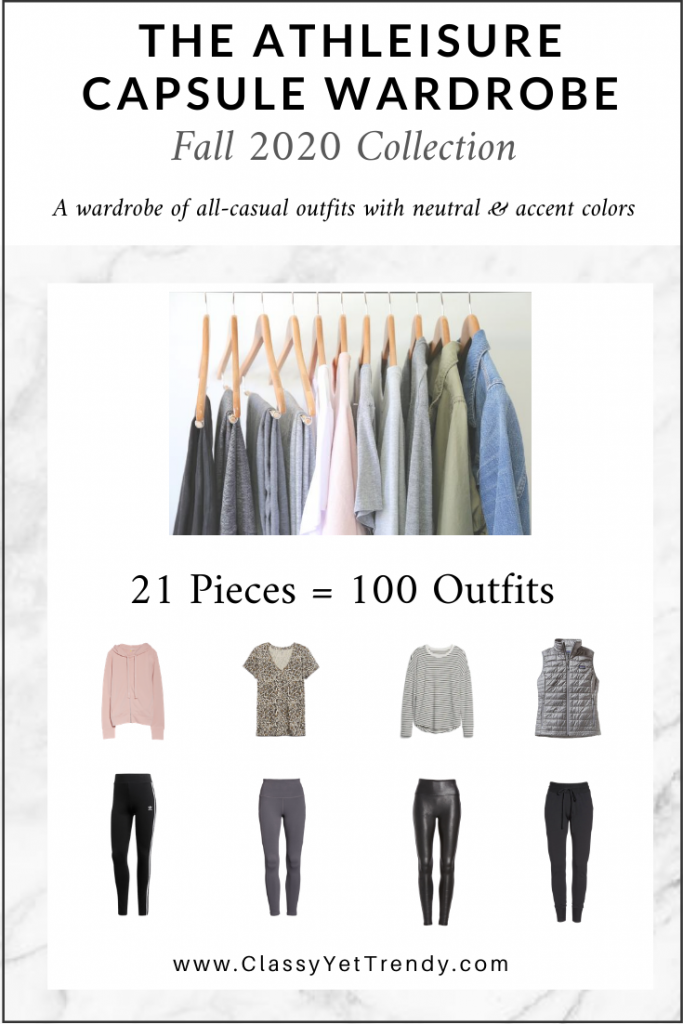 Athleisure Capsule Wardrobe Fall 2020 eBook cover