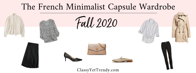 BANNER 800X300 - The French Minimalist Capsule Wardrobe - Fall 2020