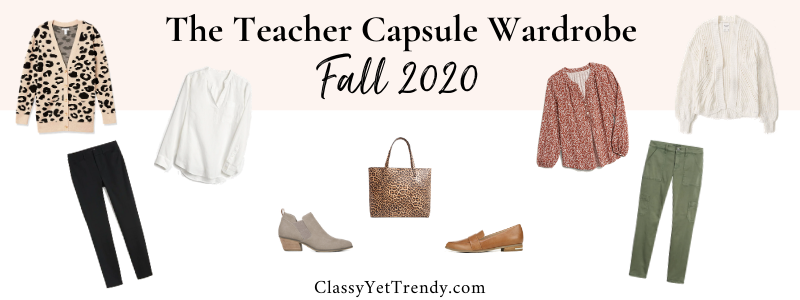 BANNER 800X300 - The Teacher Capsule Wardrobe - Fall 2020