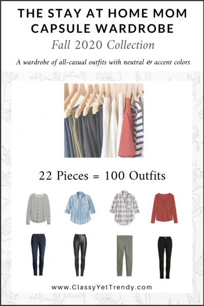 The Stay At Home Mom Capsule Wardrobe: Fall 2020 Collection