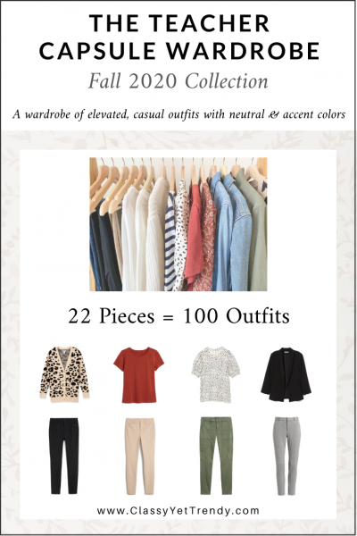 The Teacher Capsule Wardrobe: Fall 2020 Collection