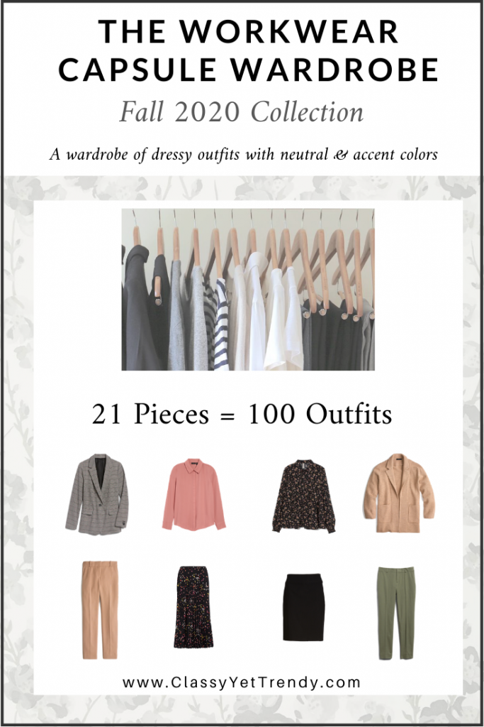 Workwear Capsule Wardrobe - Fall 2020 cover