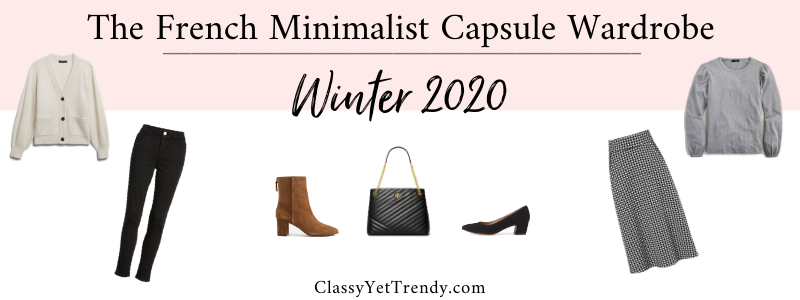 BANNER 800X300 - The French Minimalist Capsule Wardrobe - Winter 2020