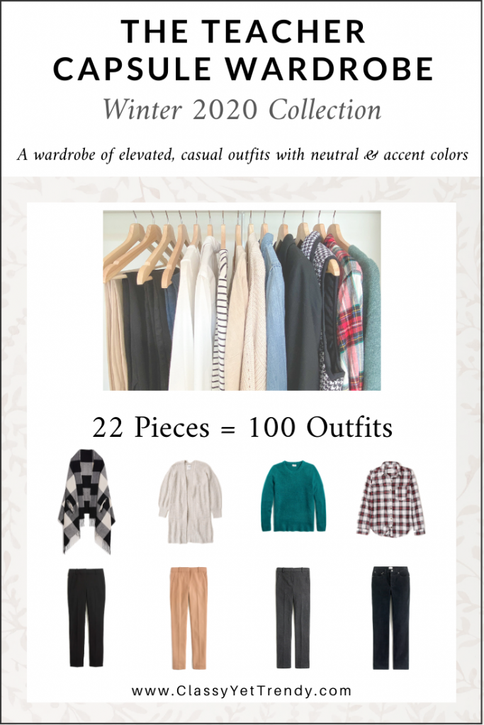 Teacher Capsule Wardrobe Winter 2020 cover