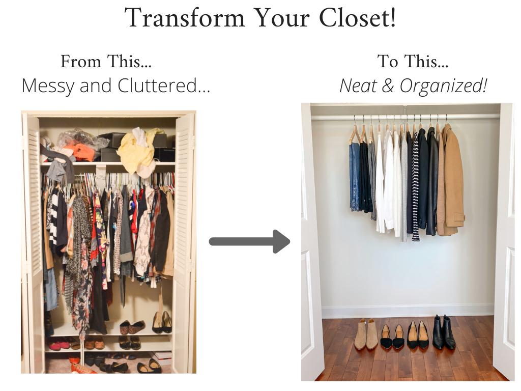 Transform Your Closet - French Minimalist Capsule Wardrobe Winter 2020