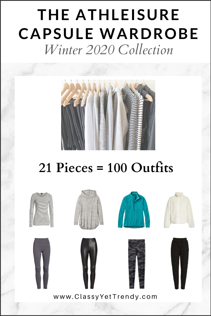 Athleisure Capsule Wardrobe Winter 2020 eBook cover