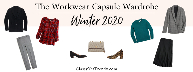 BANNER 800X300 - The Workwear Capsule Wardrobe - Winter 2020