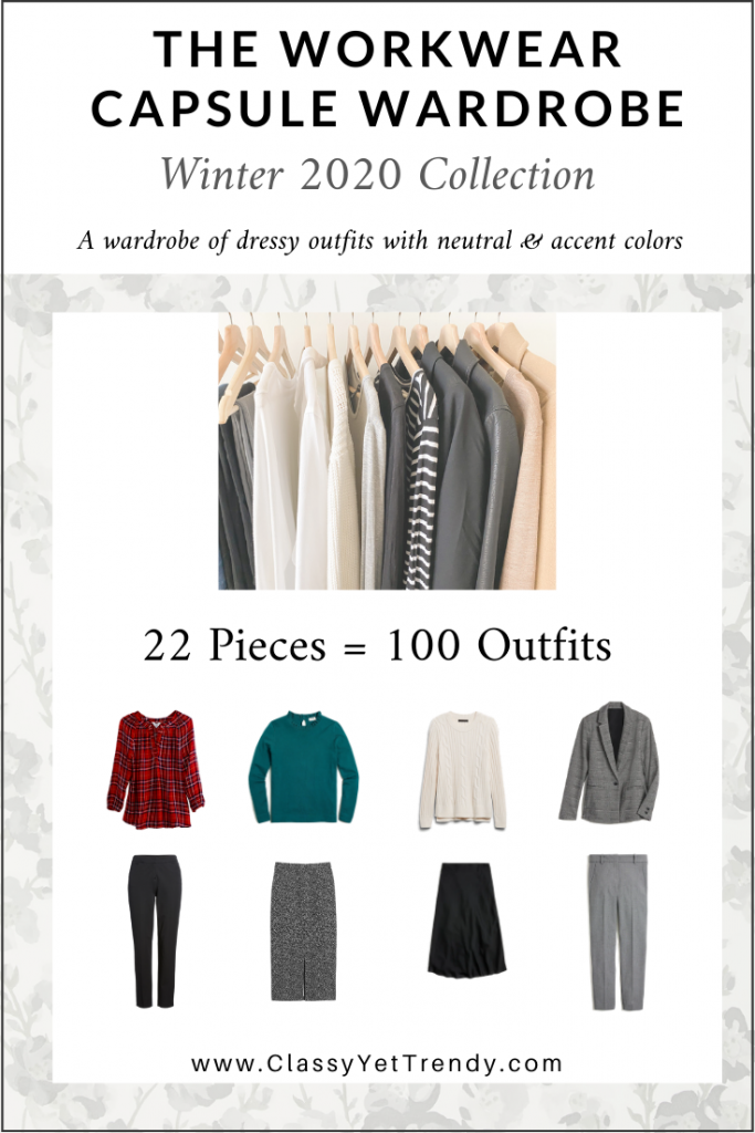 Workwear Capsule Wardrobe - Winter 2020 cover