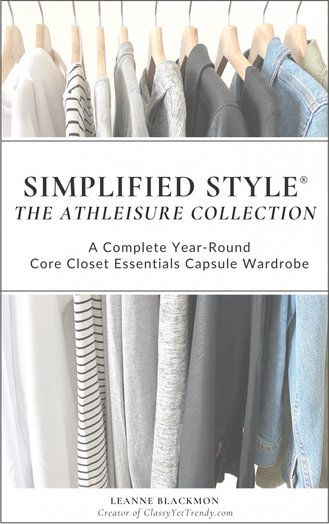 Simplified Style ATHLEISURE- A Year-Round Capsule Wardrobe COVER