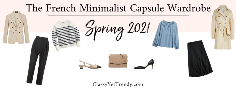BANNER 800X300 - The French Minimalist Capsule Wardrobe - Spring 2021