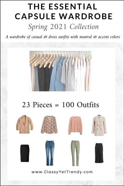 The Essential Capsule Wardrobe: Spring 2021 Collection