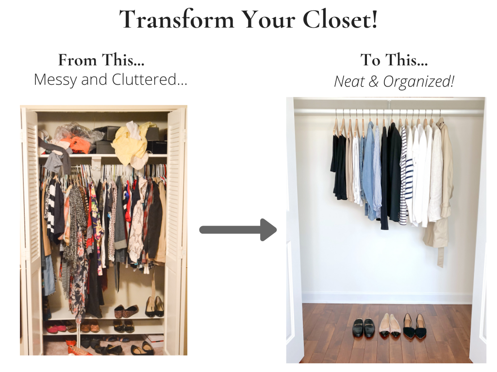 Transform Your Closet - French Minimalist Capsule Wardrobe Spring 2021