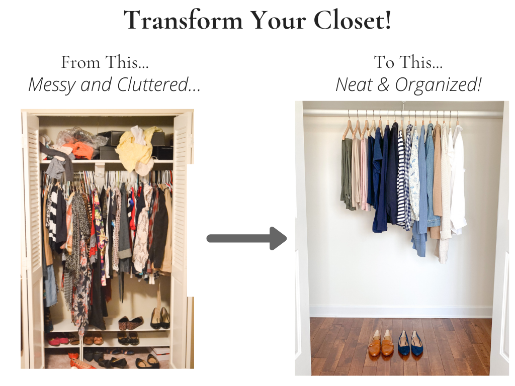 Transform Your Closet - Teacher Spring 2021
