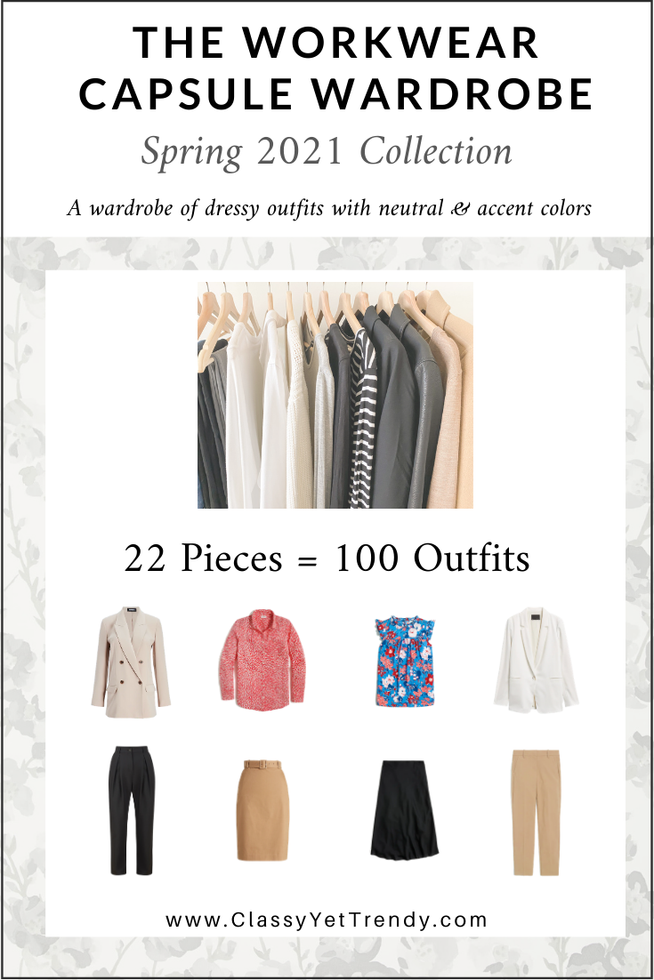 Workwear Capsule Wardrobe - Spring 2021 cover