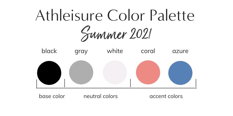 Athleisure Summer 2021 Color Palette