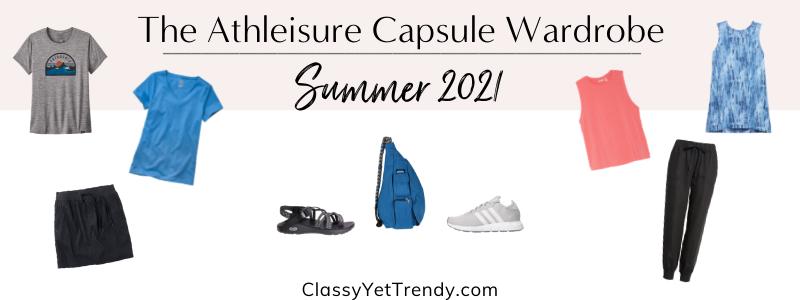 BANNER 800X300 - The Athleisure Capsule Wardrobe - Summer 2021