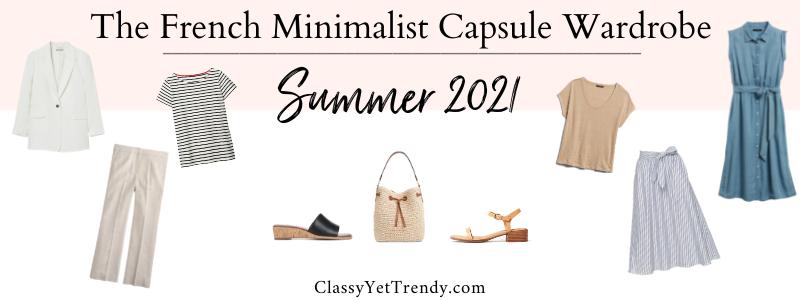 BANNER 800X300 - The French Minimalist Capsule Wardrobe - Summer 2021