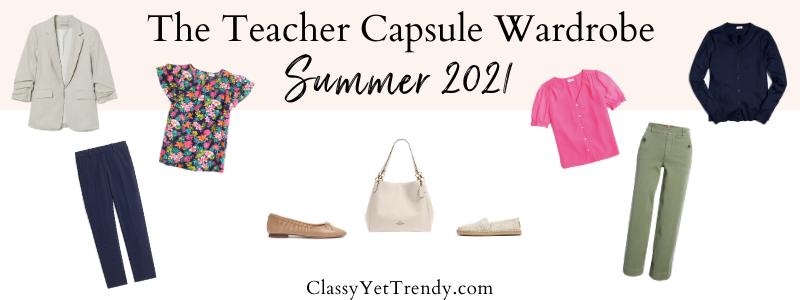 BANNER 800X300 - The Teacher Capsule Wardrobe - Summer 2020