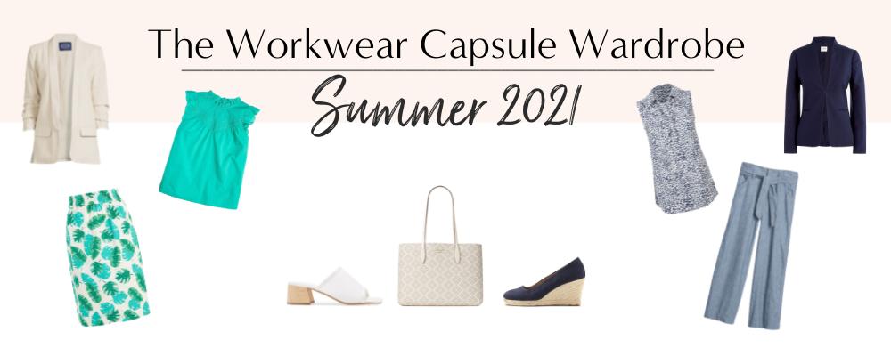 BANNER 800X300 - The Workwear Capsule Wardrobe - Summer 2021