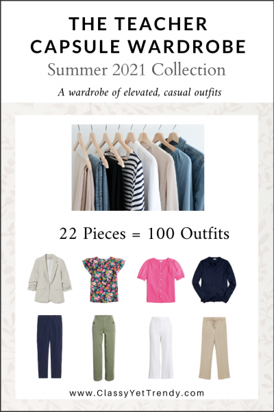 The Teacher Capsule Wardrobe: Summer 2021 Collection