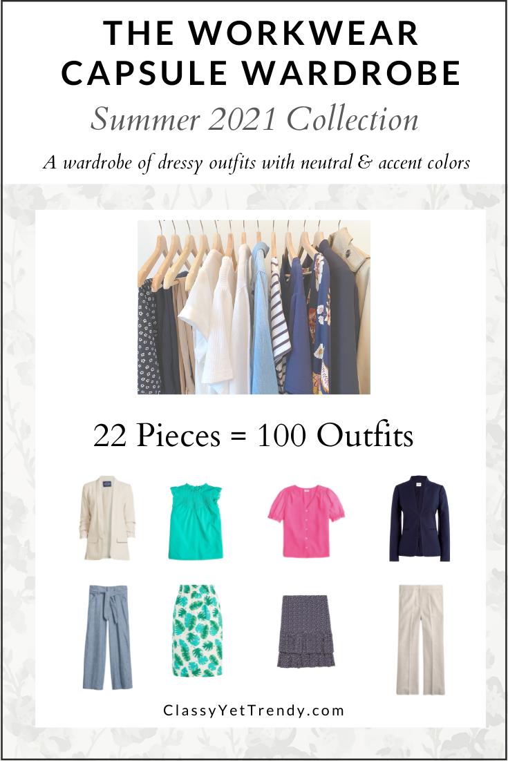 Workwear Capsule Wardrobe - Summer 2021 cover