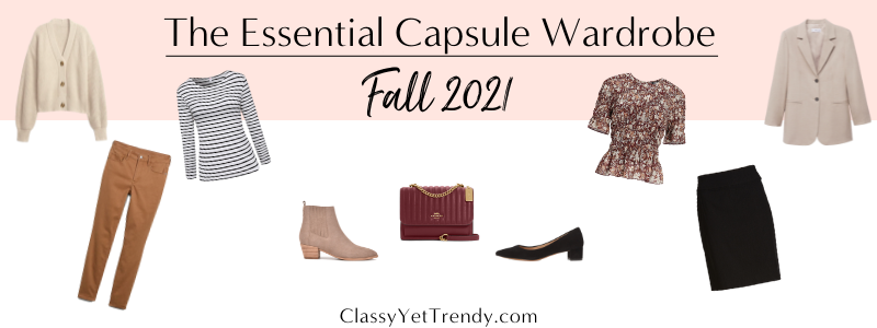 BANNER 800X300 - The Essential Capsule Wardrobe - Fall 2021