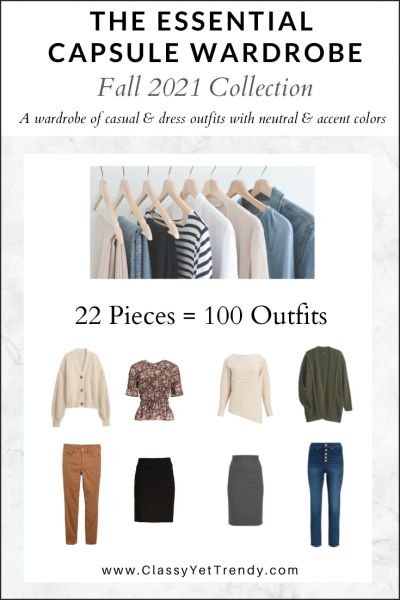 The Essential Capsule Wardrobe: Fall 2021 Collection