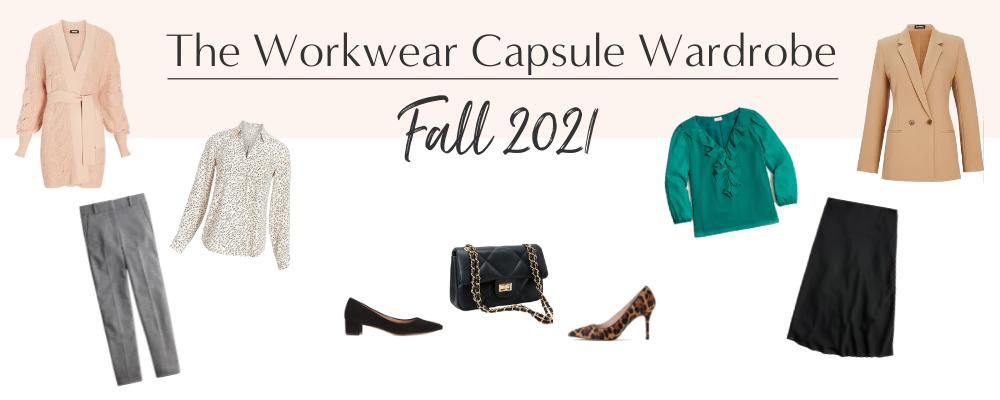 BANNER 800X300 - The Workwear Capsule Wardrobe - Fall 2021