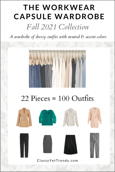 The Workwear Capsule Wardrobe: Fall 2021 Collection